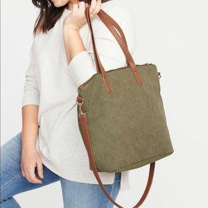 Olive tote bag!
